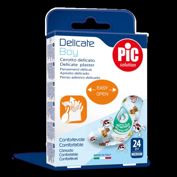 PIC Delicate Boy plaster antybakteryjny 19x72mm 24 szt