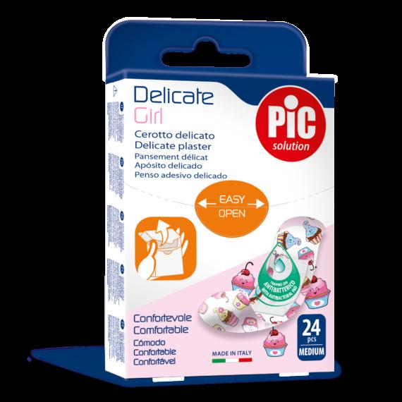 PIC Delicate Girl plaster antybakteryjny 19x72mm 24 szt